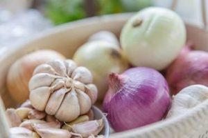 Präbiotika Knoblauch und Zwiebeln