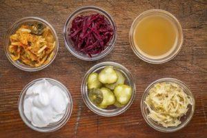 fermentierte und probiotische Lebensmittel